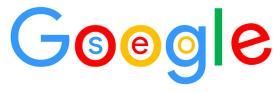 Google text with SEO written inside