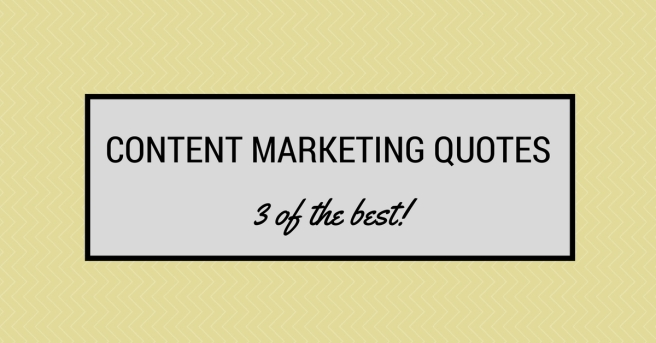 content marketing quotes header