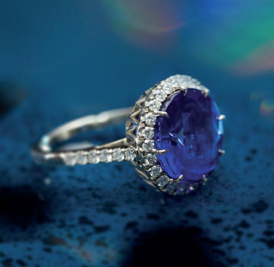 Neil Geddes Sapphire ring