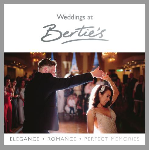 Wedding brochure front cover